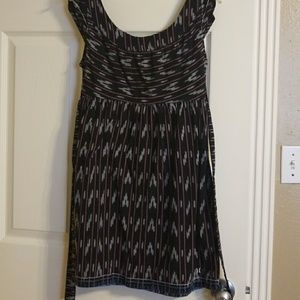 Summer casual dress open back
